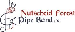 Nutscheid Forest Pipe Band Logo